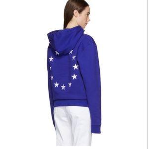 Etudes Etudes Blue Klein Europa Hoodie